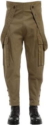 Italian Biker Cotton Cargo Pants