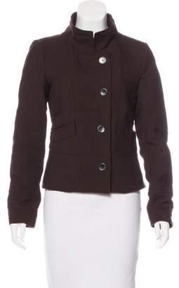Kenzo Collared Wool Jacket