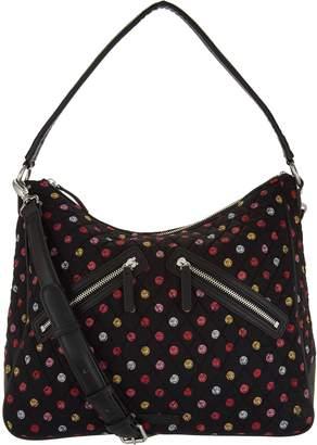 Vera Bradley Signature Vivian Zip Top Hobo Handbag