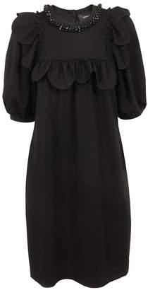 Simone Rocha Beaded Scallop Dress