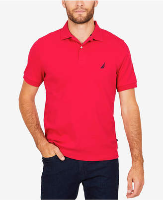 Nautica Men's Interlock Classic Fit Polo