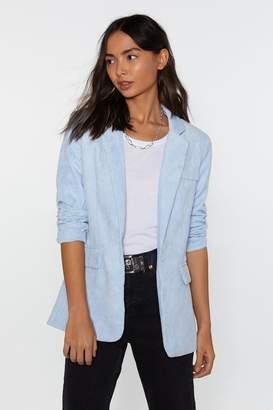 Nasty Gal Cord Tailored Blazer