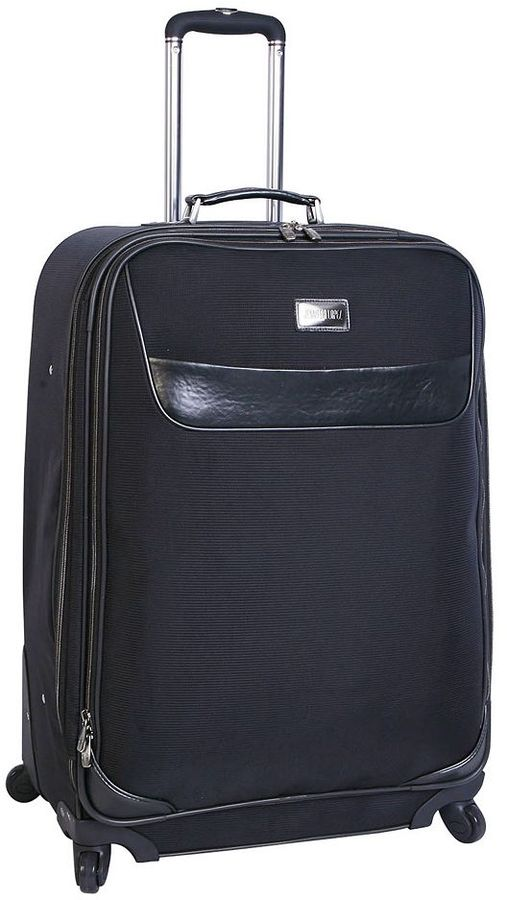 JLO by Jennifer Lopez luggage, noir 28-in. expandable spinner upright