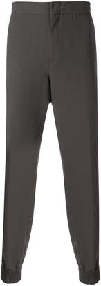 Ermenegildo Zegna Couture gathered ankle trousers