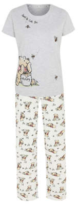 Disney George Winnie The Pooh Short Sleeve Pyjamas