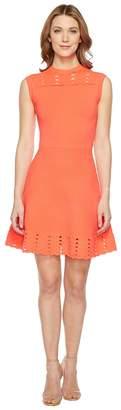 Ted Baker Jacquard Panel Skater Dress Women's Dress