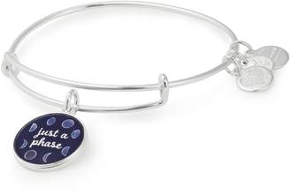 Alex and Ani (アレックス アンド アニ) - Alex and Ani Art Infusion - Just a Phase Adjustable Wire Bangle