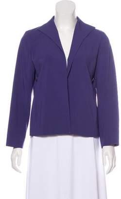 Eileen Fisher Long Sleeve Open-Front Blazer