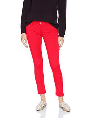 Levi's Women's 535 Super Skinny Ankle with Bow Jeans