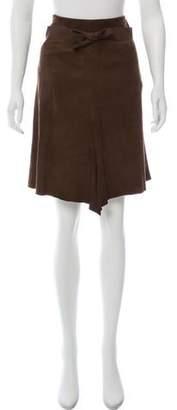 Joseph Leather Pencil Skirt