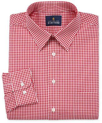 STAFFORD Stafford Travel Stretch Performance Shirt Long Sleeve Dress Shirt - Big And Tall
