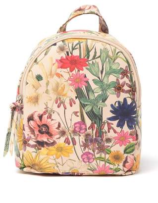 T-Shirt & Jeans Mikey Botanical Floral Mini Backpack