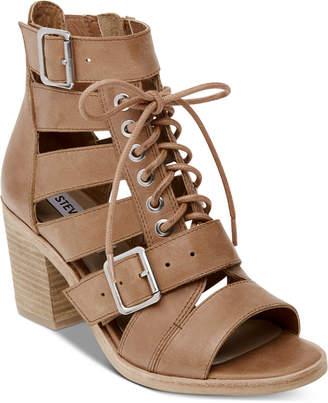 Steve Madden Women Jackson Lace-Up Sandals