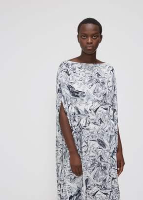 MM6 MAISON MARGIELA Foil Print Dress