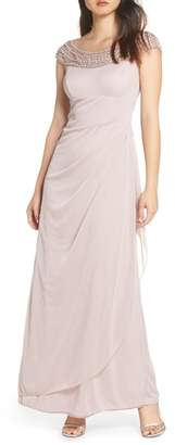 Xscape Evenings Bead Embellished Gown