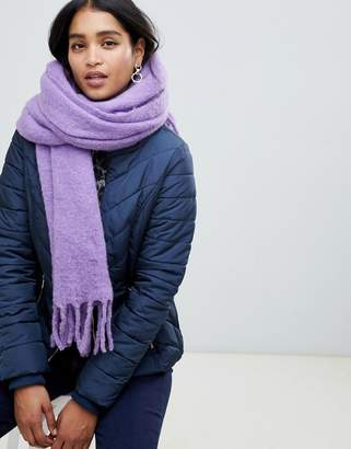 Whistles open weave blanket scarf
