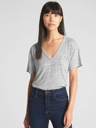 Gap Softspun V-Neck Pocket T-Shirt