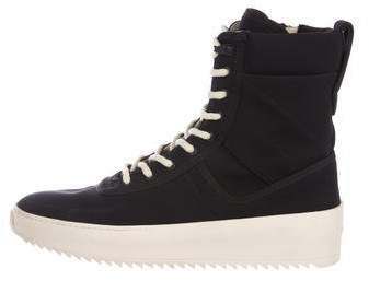 588873bdd785 Fear Of God Woven Military Sneakers   495