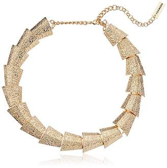 Steve Madden Textured Sectional Necklace