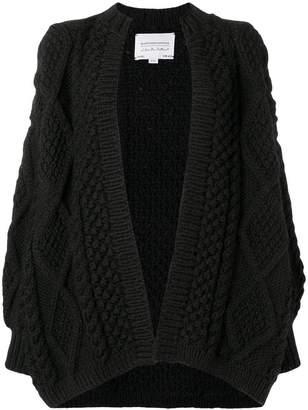 I Love Mr Mittens chunky knit cardi-coat