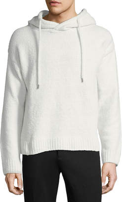 ATM Anthony Thomas Melillo Chenille Hooded Pullover Sweater