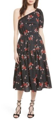 Women's Rebecca Taylor Marguerite One-Shoulder Dress $495 thestylecure.com