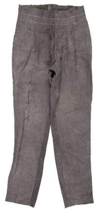 Kris Van Assche Pleated Linen Pants
