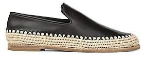 Vince Women's Jalen Leather Espadrille Loafers