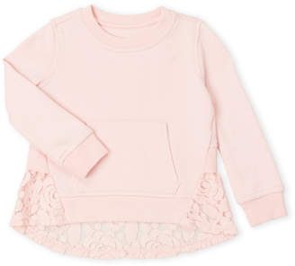 AG Adriano Goldschmied Toddler Girls) Lace Back Pullover