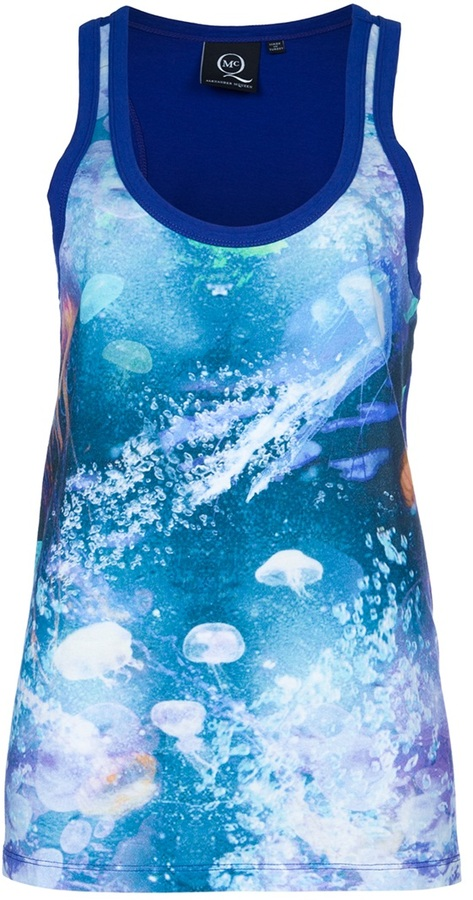 Mcq By Alexander Mcqueen Printed vest