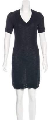 Chanel Striped Knit Dress