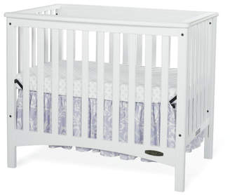 Child Craft London Euro 2-in-1 Mini Convertible Crib with Mattress