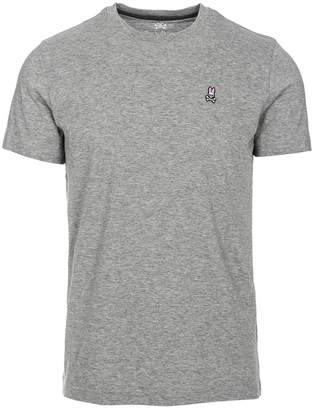 Psycho Bunny Men's Classic Crew Neck T-Shirt - Heather Grey