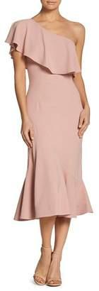Dress the Population Raquel One-Shoulder Dress
