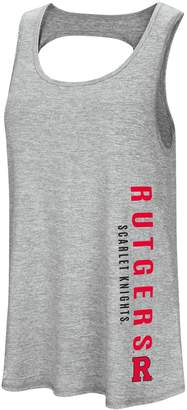 Colosseum Women's Rutgers Scarlet Knights Twisted Back Tank Top