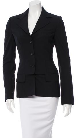 Dolce & GabbanaDolce & Gabbana Wool Overlay Blazer