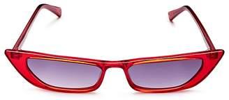 KENDALL + KYLIE Women's Vivian Extreme Cat Eye Sunglasses, 50mm