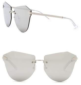 28ffa93416ac Karen Walker Mirrored Sunglasses - ShopStyle