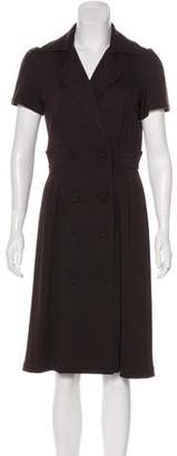 Calvin Klein Collection Midi A-Line Dress
