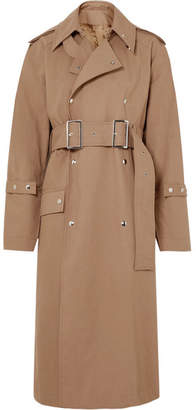 Acne Studios Oversized Cotton-twill Trench Coat - Camel