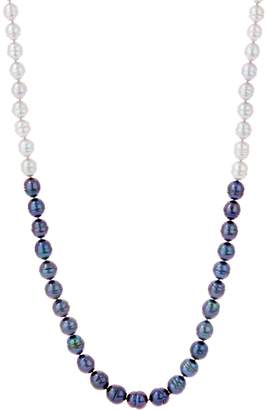 """Honora Cultured Pearl 30"""" Tonal Necklace, Sterling Silver"""