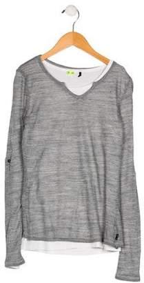 Ikks Girls' Long Sleeve Knit Top