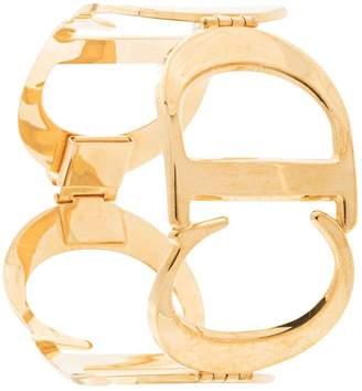 Christian Dior Pre-Owned logo bangle