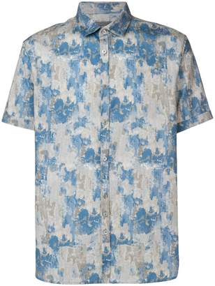 John Varvatos printed shirt
