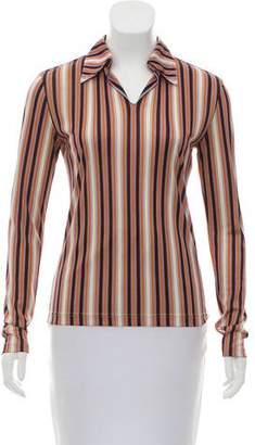 ICB Striped Collared Shirt