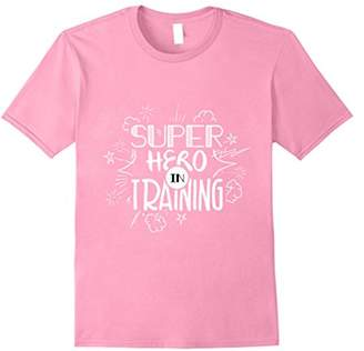 Super Hero In Training Funny Workout T-Shirt
