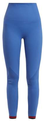 Lndr - Freefall Compression Performance Leggings - Womens - Light Blue