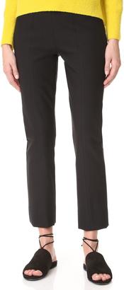 Vince Stitch Front Seam Legging Pants $285 thestylecure.com