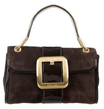 MICHAEL Michael Kors Michael Kors Suede & Leather Bag