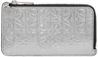 Loewe Silver Coin Card Holder
